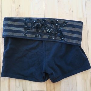 Victoria's Secret Pink Shorts Sequence XS Yoga